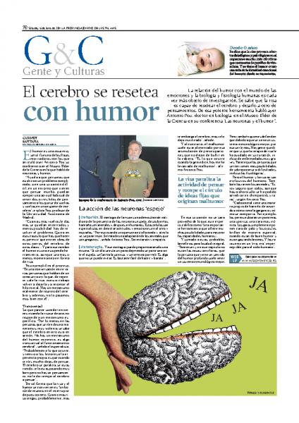 El cerebro se resetea…