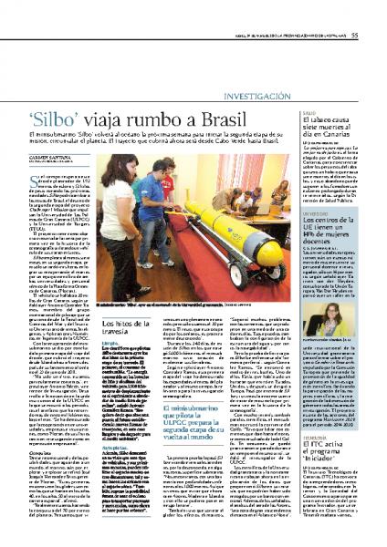 'Silbo' viaja rumbo a Brasil