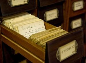 Tarjetas bibliotecarias. / Red.es