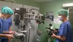 Prueba del prototipo de Helicoid en el Hospital Dr. Negrín. / LP