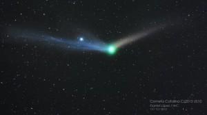Cometa Catalina. / IAC