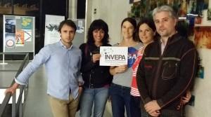 Miembros de la directiva de la asociación Invepa. /INVEPA