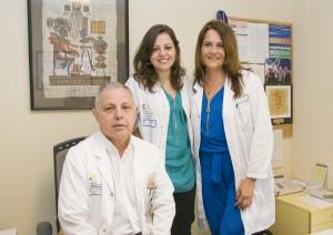 Miembros del Servicio de Nefrología del Dr. Negrín. / HGCDN