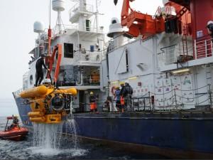 El sumergible JAGO durante la expedición Poseidón a la isla de El Hierro. /MaikeNicolai-GEOMAR