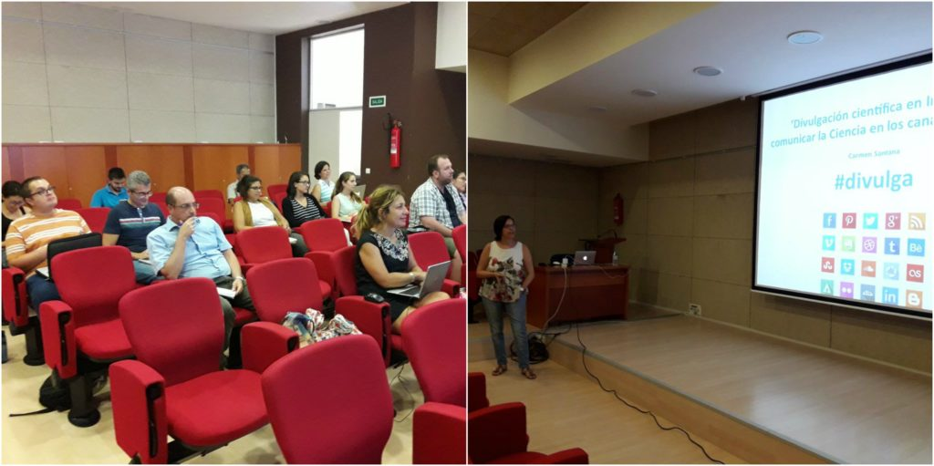 Curso de formación de divulgación científica en Internet, en la ULPGC. / Invepa