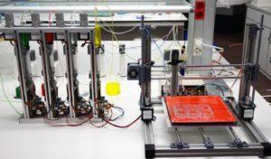 Prototipo de bioimpresora 3D. / UC3M