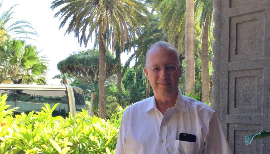 Ron Kikinis, catedrático de la Universidad de Harvard, en Las Palmas de Gran Canaria. / C.S.